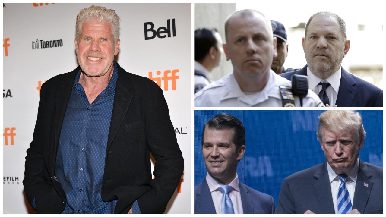 Ron Perlman vs. Harvey Weinstein : Donald Trump Jr. s'en mêle