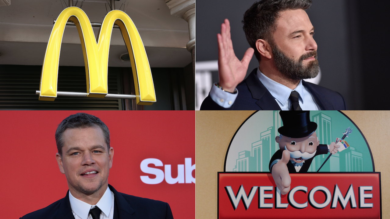 Ben Affleck Matt Damon arnaque McDonald's