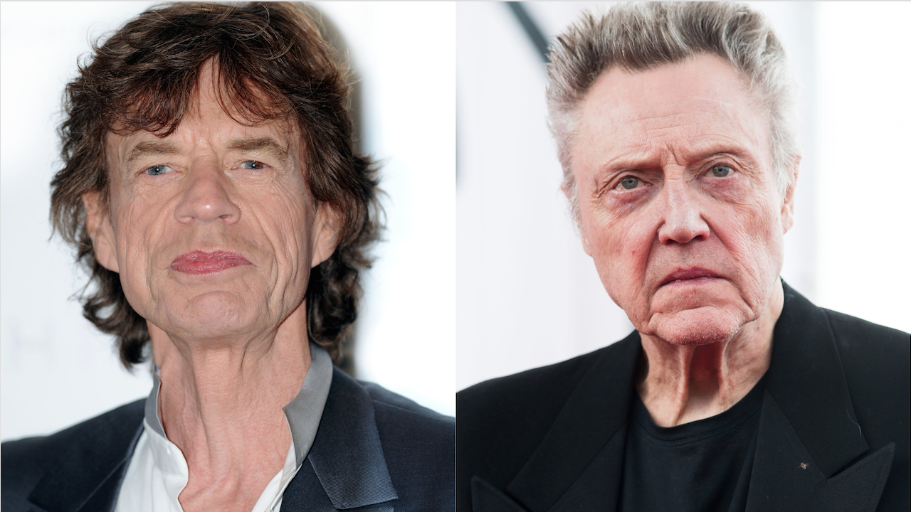 Mick Jagger Christopher Walken