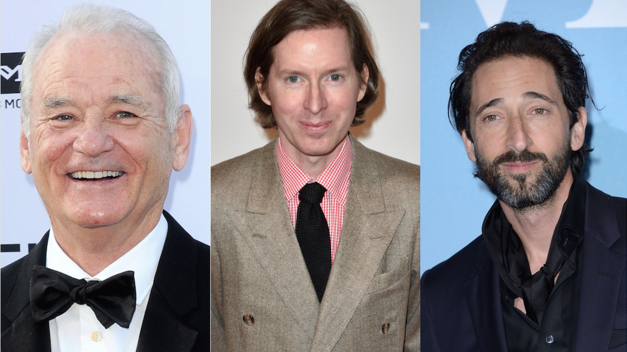 Bill Murray Adrien Brody comédie musicale Wes Anderson