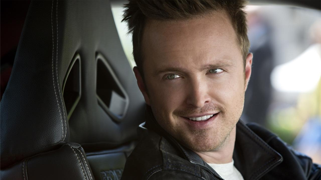 "Aaron Paul : ""Je me suis éclaté sur Need for Speed"""