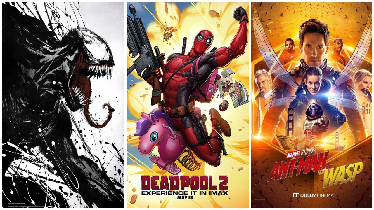 Venom a battu Deadpool 2 et Ant-Man et la Guêpe au box-office mondial