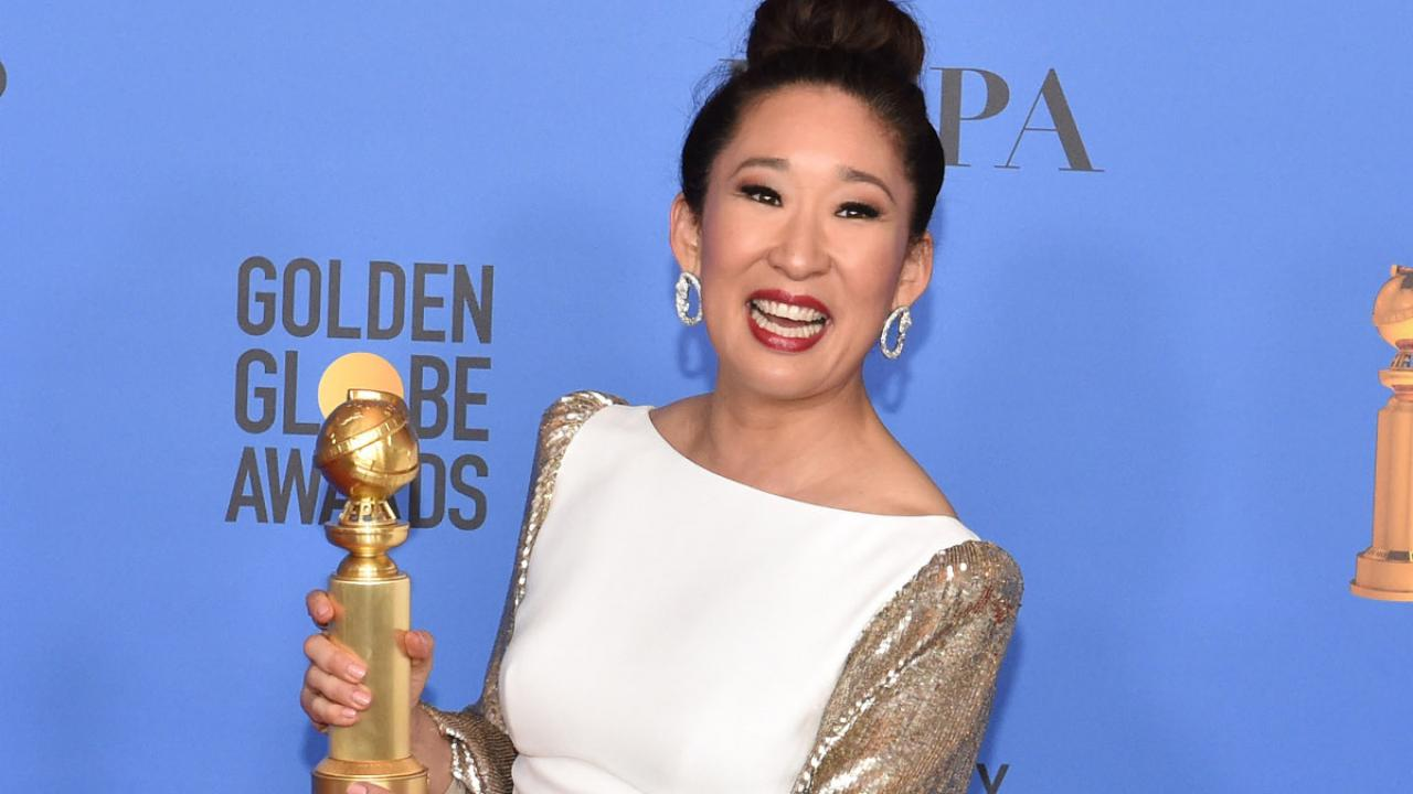Sandra Oh aux Golden Globes