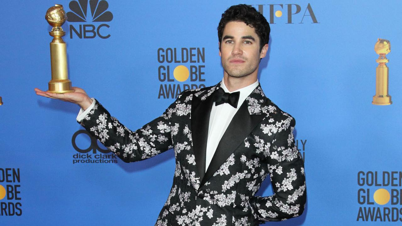 darren criss golden globes 2019