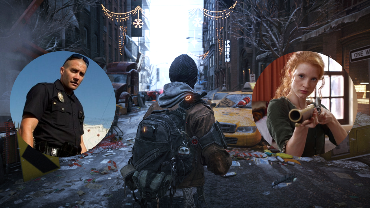 The Division Chastain Gyllenhaal