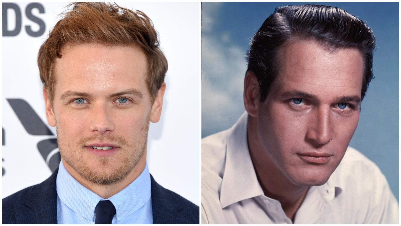 Sam Heughan Paul Newman