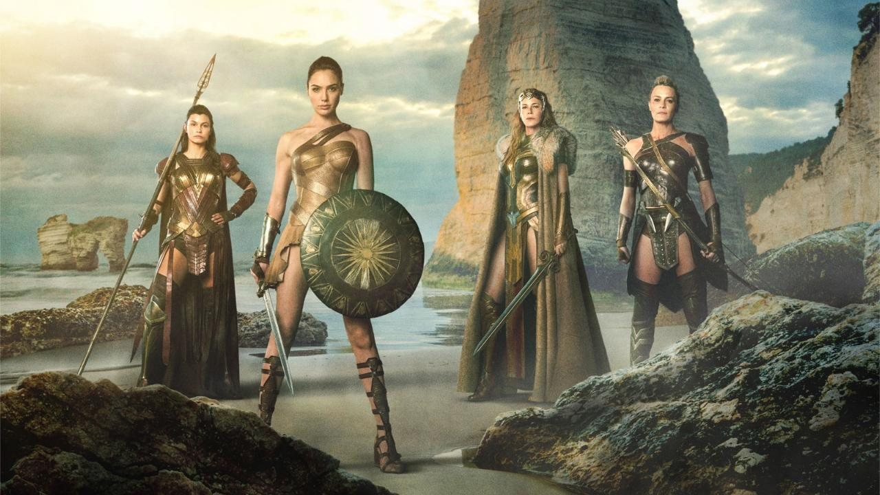 Wonder Woman Amazones