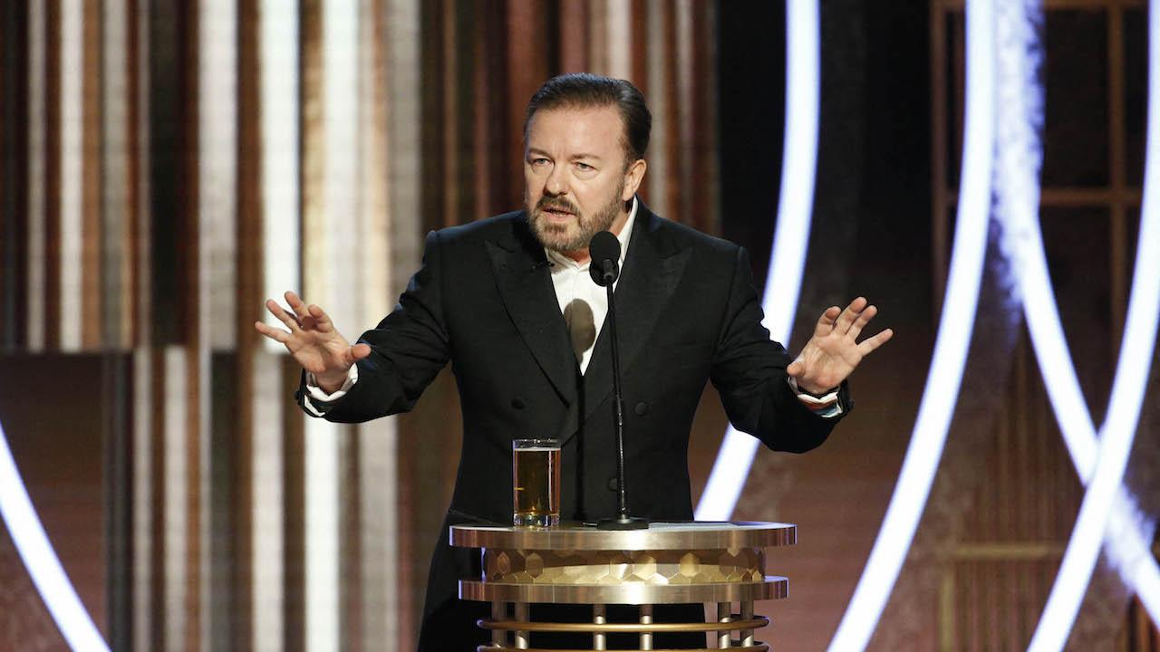 Ricky Gervais aux Golden Globes 2020