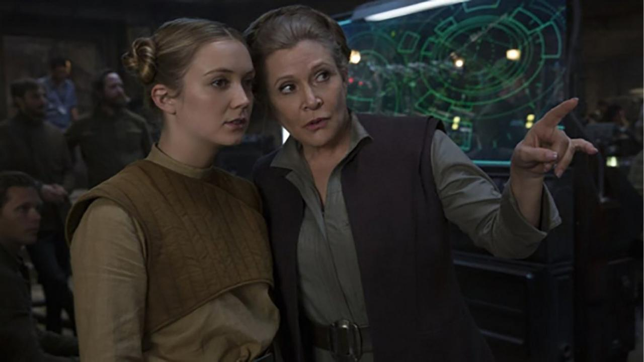 Star Wars Carrie Fisher Billie Lourd