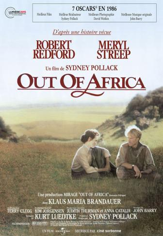 affiche out of africa