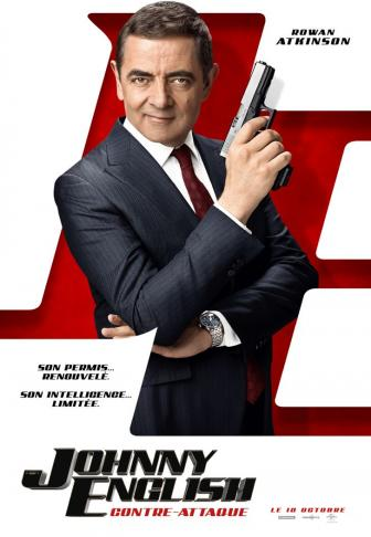 Johnny English contre-attaque affiche