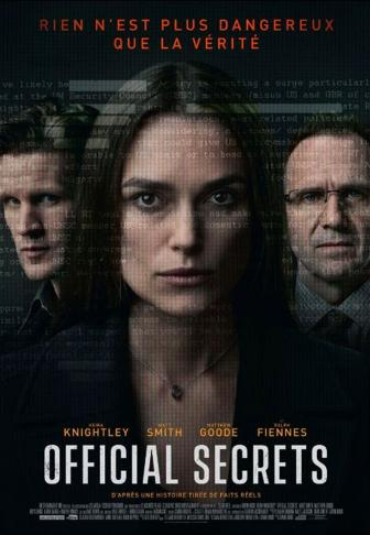 affiche Official Secrets