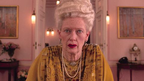 Tilda Swinton dans The Grand Budapest Hotel (2014)