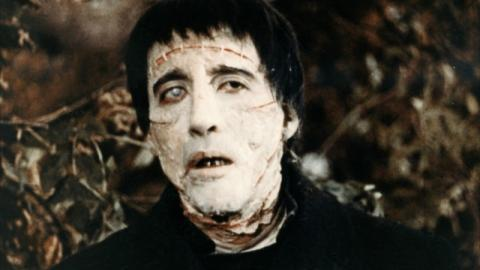Christopher Lee Frankenstein