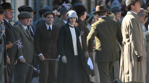 Downton Abbey, tournage, film