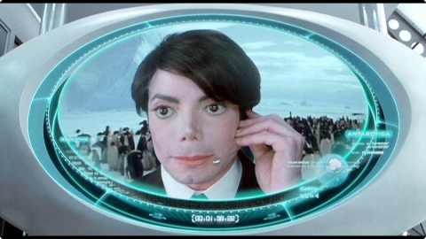 Les caméos de la saga Men in Black : Michael Jackson (Men in Black II)