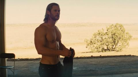 Chris Hemsworth dans Thor