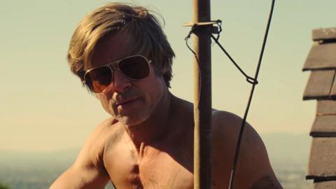Brad Pitt dans Once upon a time in Hollywood (2019)