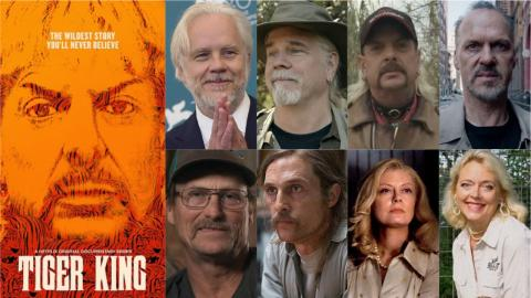 Le casting idéal de Tiger King le film : Michael Keaton, Jeff Bridges, Matthew McConaughey...