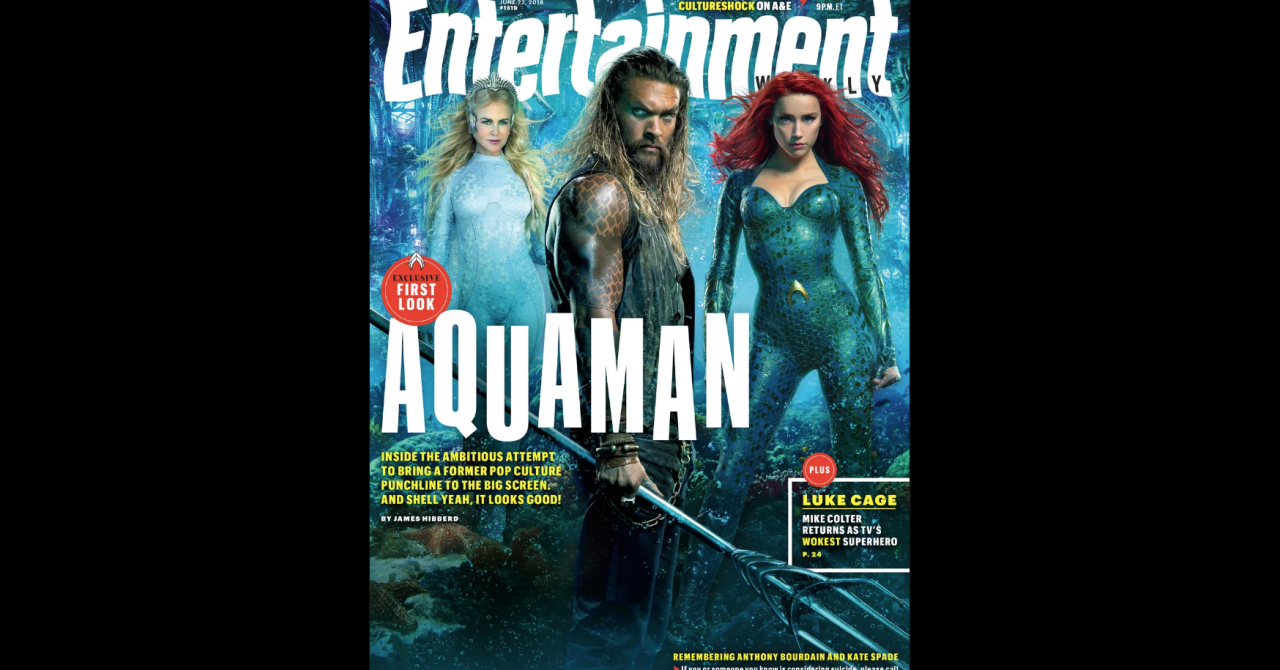 Aquaman - Couverture