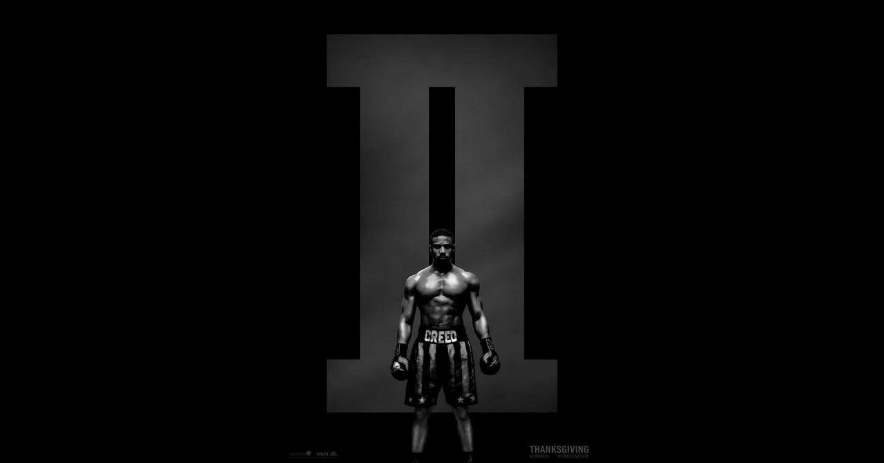 Creed 2 affiche