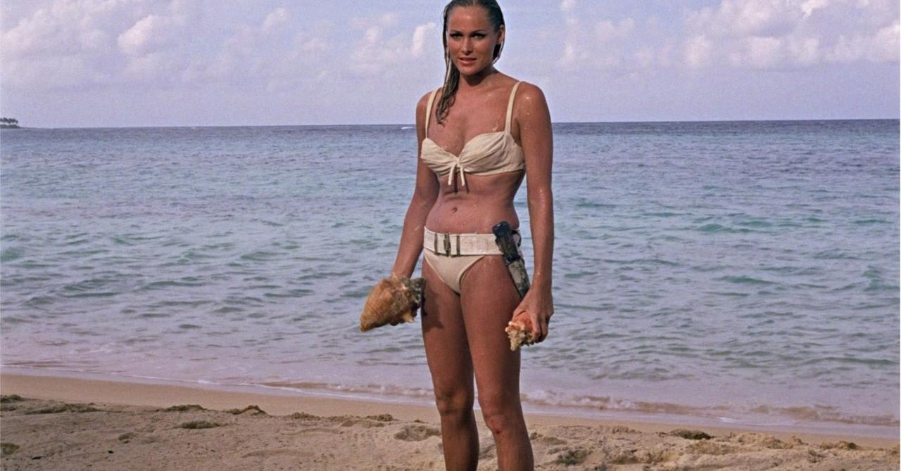 Ursula Andress dans James Bond contre Dr. No