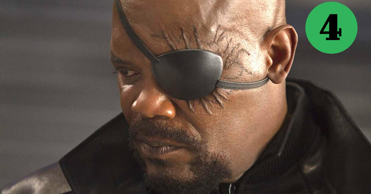 Nick Fury Top