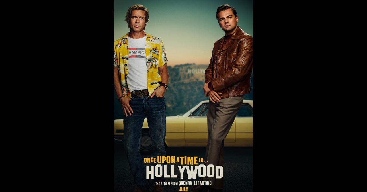 Once Upon a Time in Hollywood affiche 2