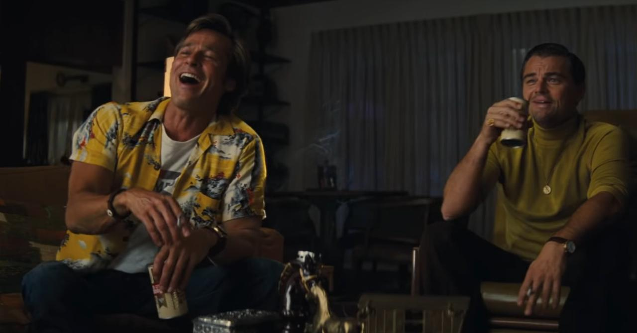 Cliff Booth et Rick Dalton Once Upon a Time in Hollywood