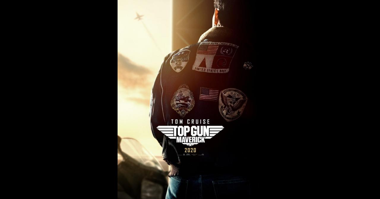 Top Gun Maverick affiche