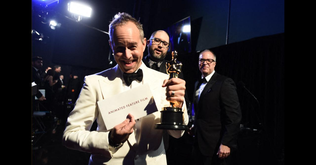 Oscars 2020 : Jonas Rivera, Josh Cooley et Mark Nielsen (meilleur film d'animation pour Toy Story 4)