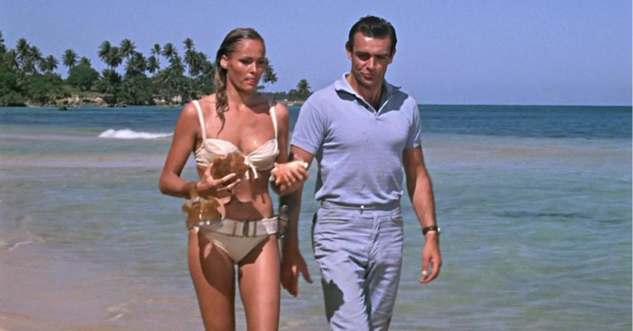 Sean Connery dans James Bond 007 contre Dr No (1963)