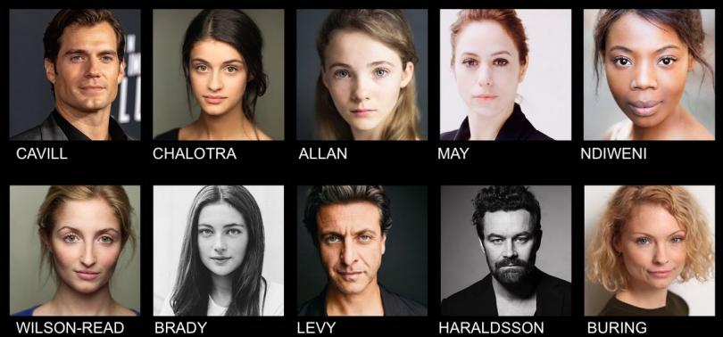 the witcher netflix casting