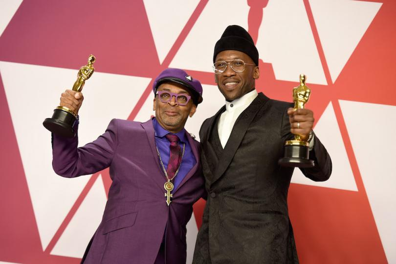 Spike Lee et Mahershala Ali - Oscars 2019