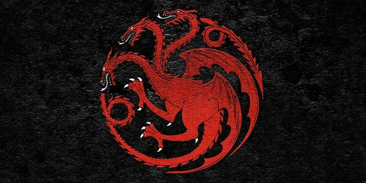 Game of thrones, symbole targaryen