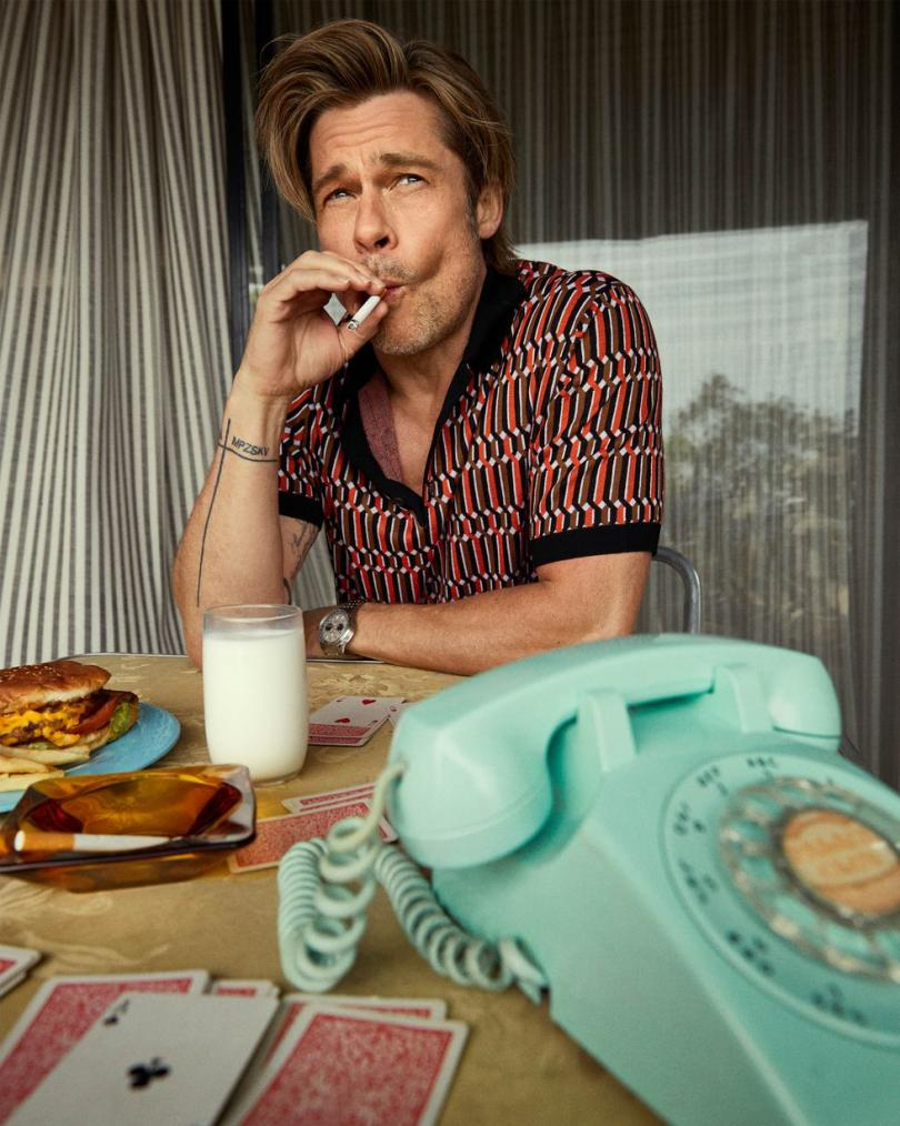Brad Pitt photoshoot Esquire
