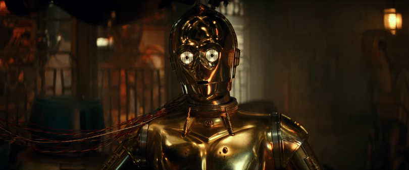 c3po trailer final star wars 9